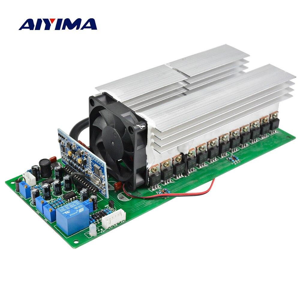 Aiyima 3000 Вт Чистая синусоида Мощность доска преобразователя частоты 24 В 36 В 48 В 4000 Вт 5000 Вт высокое качество достаточно Мощность идеальная защ...