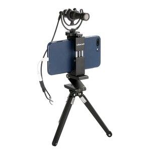 Image 4 - Ulanzi ST 02s Metall Smartphone Stativ Montieren Clipper mit Kalten Schuh Vertikale Horizontale für iPhone Video Filmemacher Vloggers