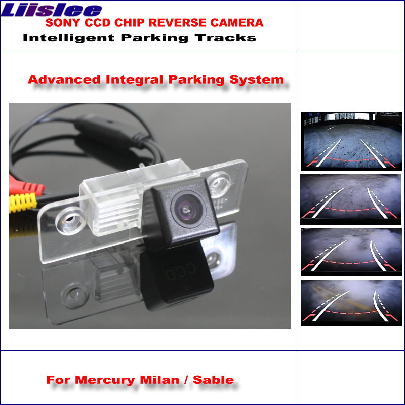 Liislee Intelligentized Reversing Camera For Mercury Milan / Sable Rear View Back Up / 580 TV Lines Dynamic Guidance Tracks