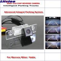 Liislee Intelligentized Reversing Camera For Mercury Milan / Sable Rear View Back Up / 580 TV Lines Dynamic Guidance Tracks