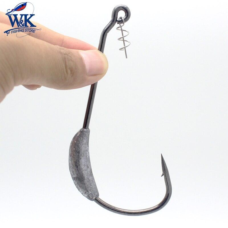 All Sizes Soft Lure Hooks Daiwa Bassers Worm Hook SS