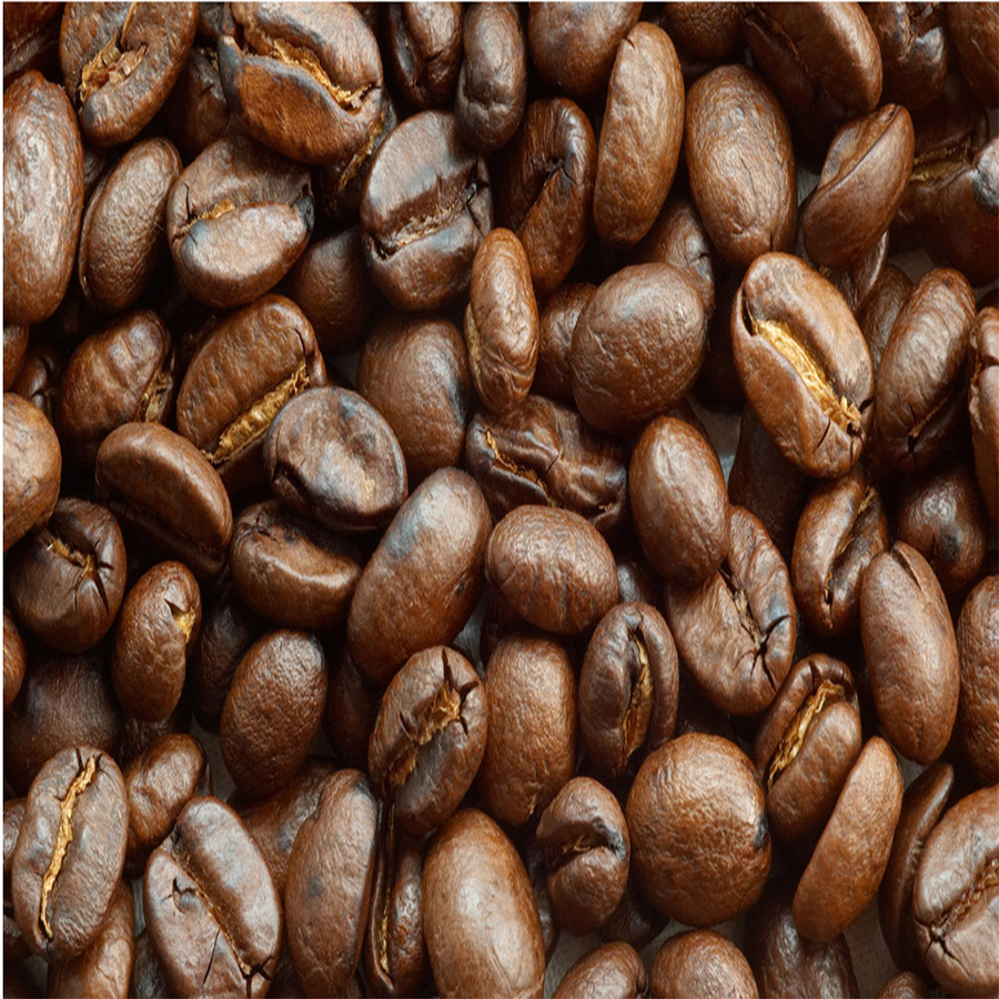 100g 100% organic and pure natural bulk Coffee beans, the