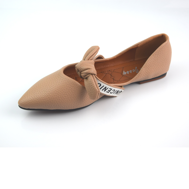 High Quality Soft Leather Solid Color Women Flats Shoes  Soft Rubber Sole Sweet Girl Walking Driving Shoes siketu best gift baby flats tassel soft sole cow leather shoes infant boy girl flats toddler moccasin bea6624