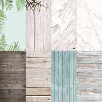 Photo Studio 58X86cm 2sides 80colors PVC Photography Wood Printing Backdrops Waterproof Marble Background for Camera Photo