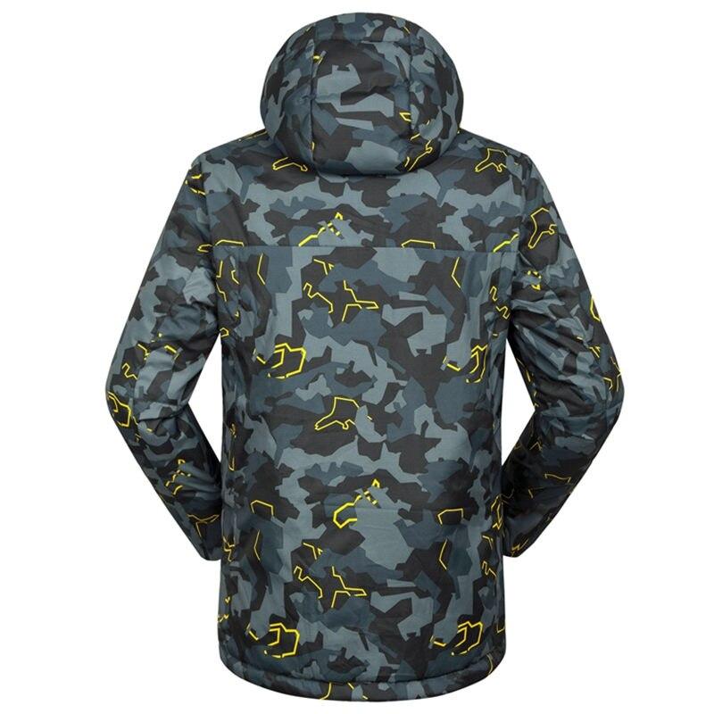d2464909 € 61.5 35% de DESCUENTO| 30 barato camuflaje hombres traje de nieve  chaquetas deportes al aire libre ropa de snowboard esquí impermeable a  prueba ...