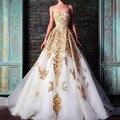 2017 Top Fashion Vestidos Vestidos De Noite Ouro Sweetheart Frisada Applique Formal Vestidos Vestido Sereia Vermelho