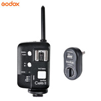 Godox Cells II Flash Trigger Transceiver Wireless Transmitter+FTR 16 FT 16 Receiver AD 360 AD 180 For Canon Camera Studio Flash