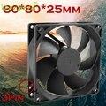 Quiet Cooling Fan 8cm/80mm/80x80x25mm DC 12V Silent Computer/PC/CPU Case Cooler Mar30