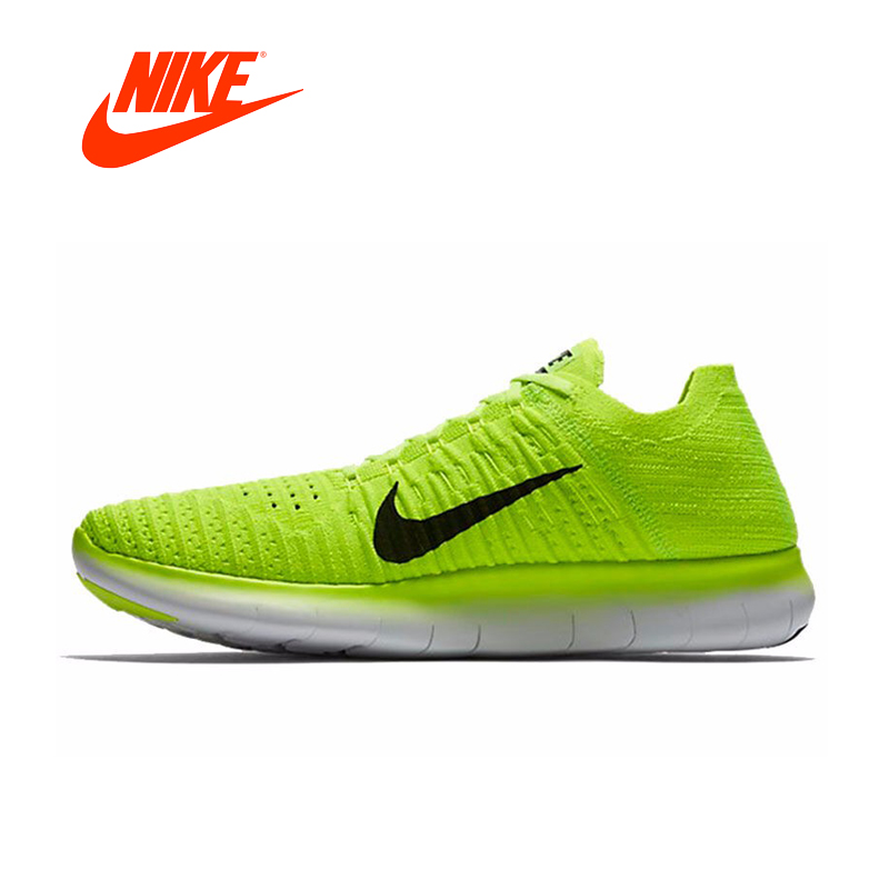 Original New Arrival Official NIKE Free RN Flyknit MS Men's Running Shoes Sneakers Outdoor Sports Shoes 842545-700 original new arrival nike free rn flyknit r women s running shoes sneakers