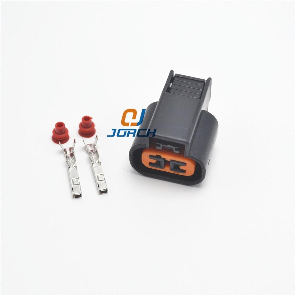 Free shipping 10 sets 2 pin KUM Female Sensor plug Fog Lamp Automotive Connector For Mitsubishi Souast PB625-02027