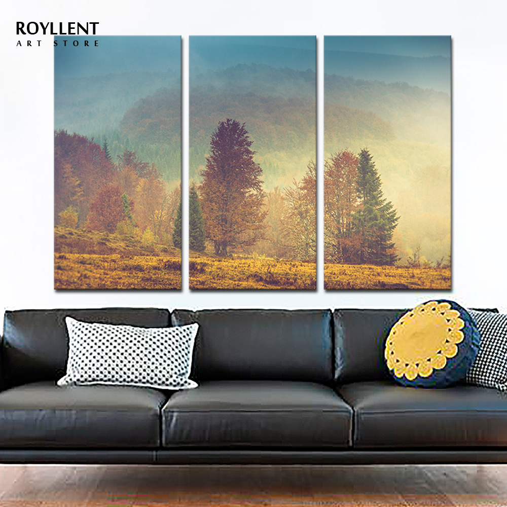 Color printing depaul - Aliexpress Com Buy Modern Wall Art Canvas Print Painting Landscape Picture Mountain View Photo Warm Color Printing For Home Decor Unframed Ra0142 From