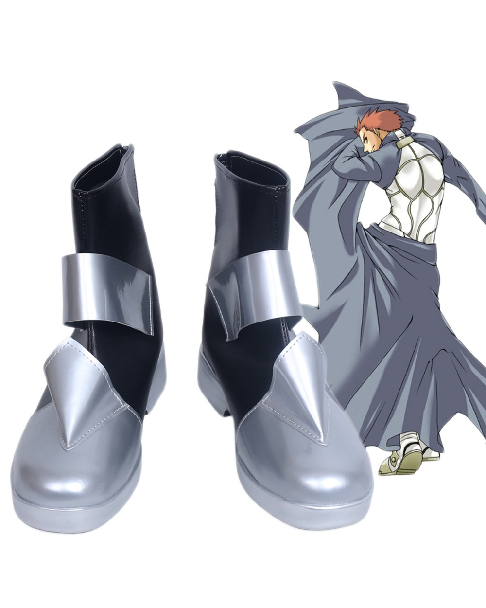 Fate//stay night Fate//kaleid liner Shirou Emiya Cosplay Boots Shoes Custom Made