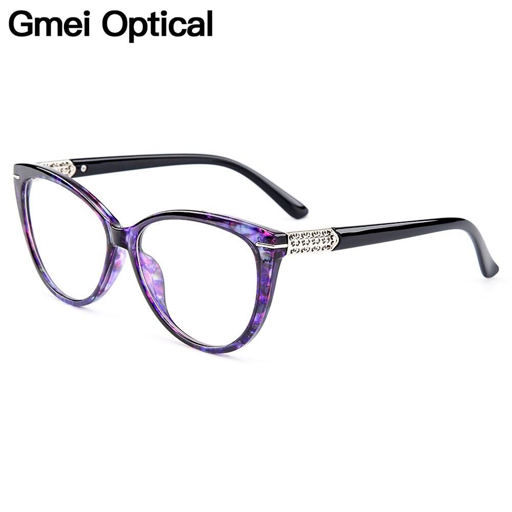 Gmei Optische Urltra-licht-Licht TR90 Cat Eye Stil Frauen Optische ...