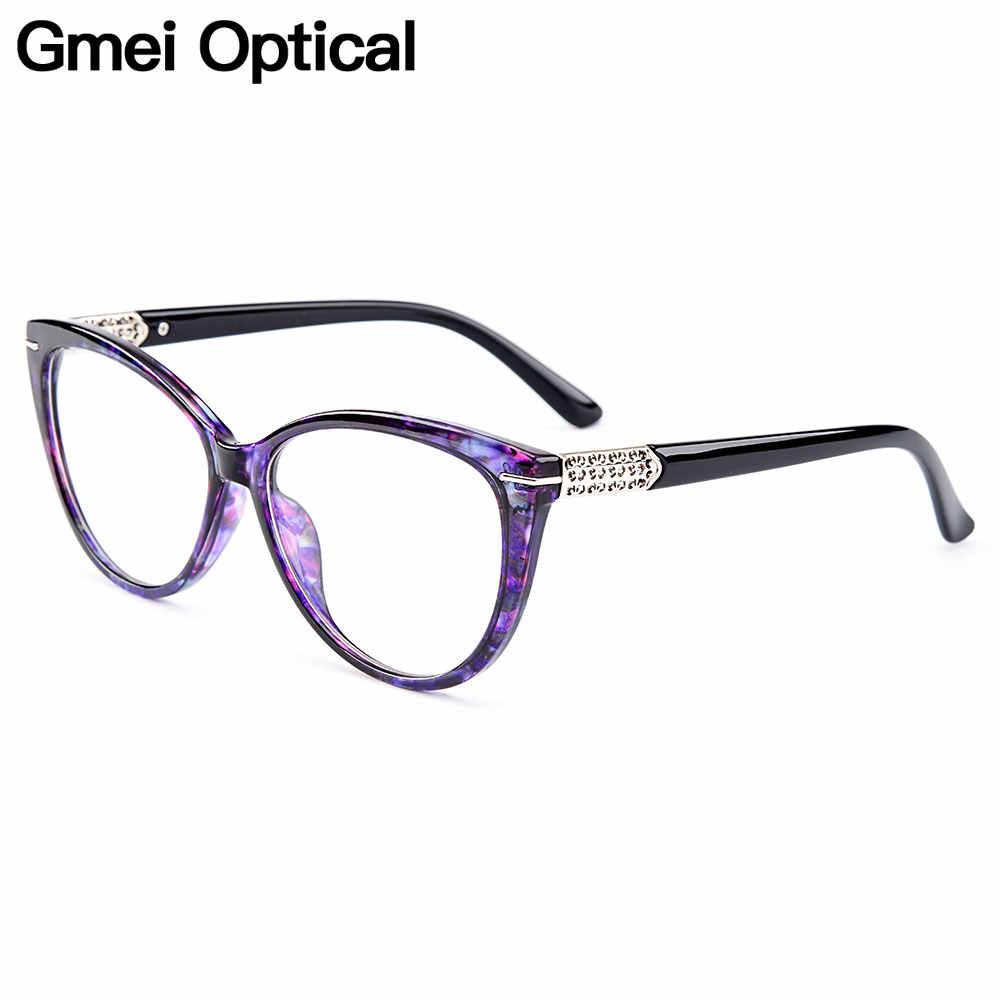 Gmei אופטי Urltra אור TR90 עין חתול סגנון נשים אופטי משקפיים מסגרות אופטי משקפיים מסגרת נשים קוצר ראייה משקפיים m1697
