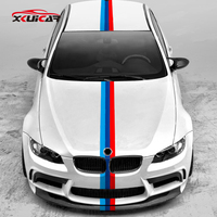 4.4 Meters Performance 3 Colors Pull Flowers Color Stripes Car Stickers for BMW 3 Series 320 328 316 320 5 Series 525 530 M3 M5