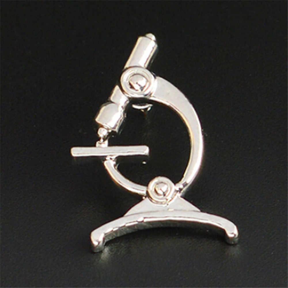Ellenmar Microscopio Spilla Spilli Novità Biologia Molecolare Spille Medico Infermiere Medico Laurea Studente Regalo