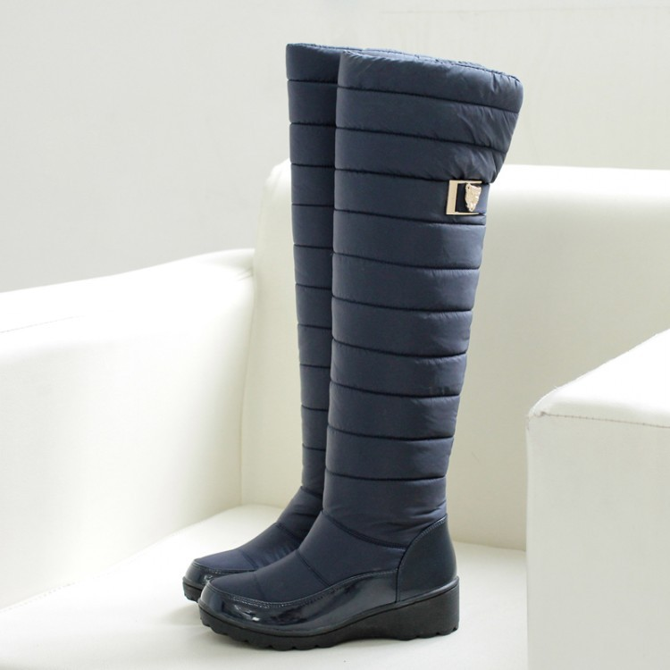 2017 Snow Boots Style Thigh High Women Woman Femininas Boots Botas Masculina Zapatos Botines Mujer Chaussure Femme Shoes Hx-53