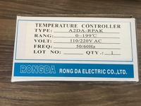 A2DA RPK RONGDA thermostat temperature controller A2DA RPAK 0 199 degree