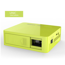 Unic UC50 DLP mini Projector Full HD 1080P Home theater projecting camera LED video home Multimedia Video built-in battery