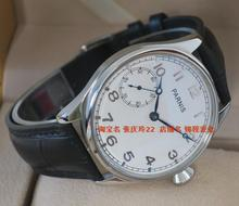 44MM PARNIS ST3600 6497 Mechanical Hand Wind goose neck movement mechanical watches men s watch white