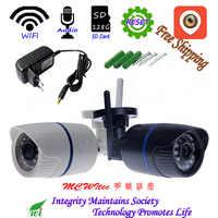 XM APP Audio IPC 128G carte SD WIFI 1080P 720P IR extérieur ONVIF alarme de sécurité image de nuit P2P IP Cam réinitialiser caméra sans fil
