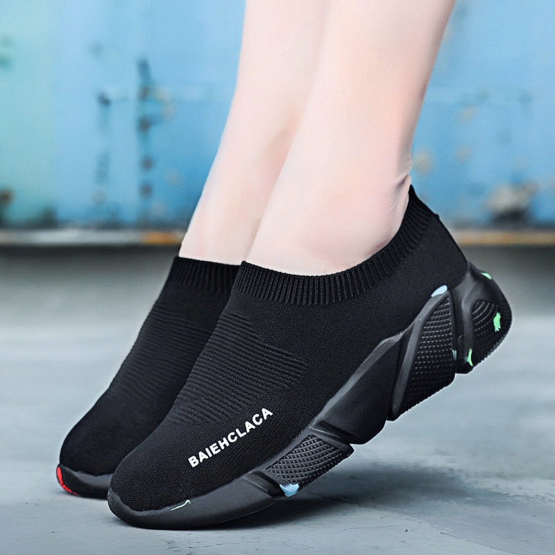 Sneakers Men Brand Socks Sports Shoes women wedge men trainer Coaches  running shoes for woman bayan ayakkabi zapatillas mujer-in Running Shoes  from Sports ... 5052798a08d2
