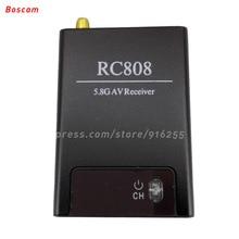 BOSCAM rc fpv 5 8ghz receiver av 32CH mini wireless audio video model quadcopter LED RX