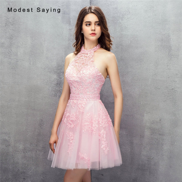 Pink Short Formal Dresses