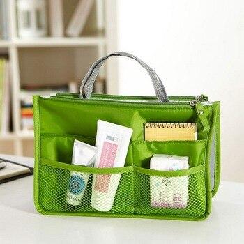 14 Colors Make up Organizer Bag Women Men Casual Travel Storage Bag Multi Functional Cosmetic Bags Makeup Handbag