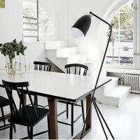 black led floor lamp modern Wrought iron floor lamps home E27