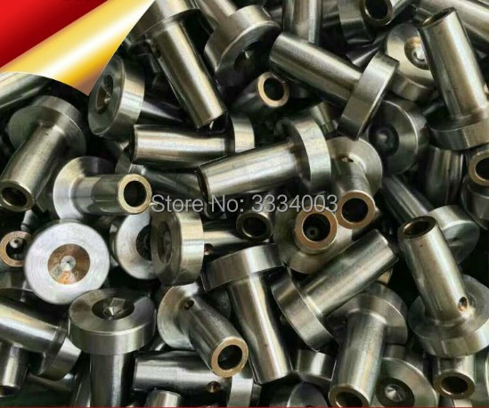 common rail injector nozzle control valve cap for 110 120 series, automatic valve cap 334 and angle needle valve head