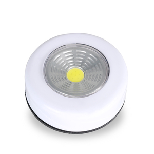 Image 2 - COB LED 무선 스틱 탭 옷장 터치 라이트 램프 3W 배터리 전원 주방 캐비닛 옷장 푸시 탭 홈 스틱 램프 blub에
