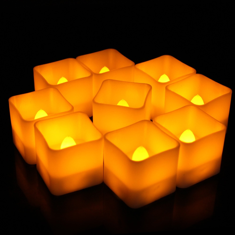5011512326_1650456754  12pcs Flickering LED Candles Sq. Pillar Faux Candle Electrical Tealight for Residence Decor Wedding ceremony Events HTB1i9Epj7omBKNjSZFqq6xtqVXap