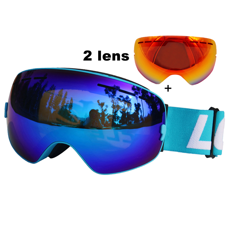 masque ski anti brouillard