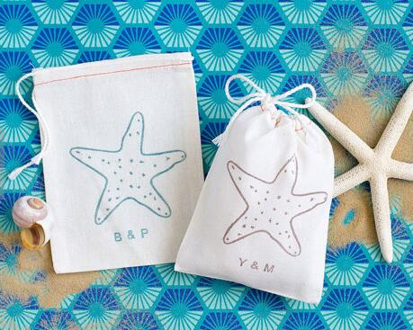 Personalized Starfish Hangover Kit Beach Wedding Favor Gift Welcome Bags Bachelorette Hem Bridal Shower Party