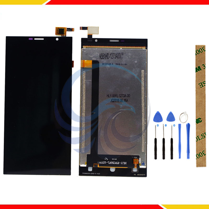 LCD Display For Leagoo Alfa 1 LCD Display With Touch Screen Complete assembly