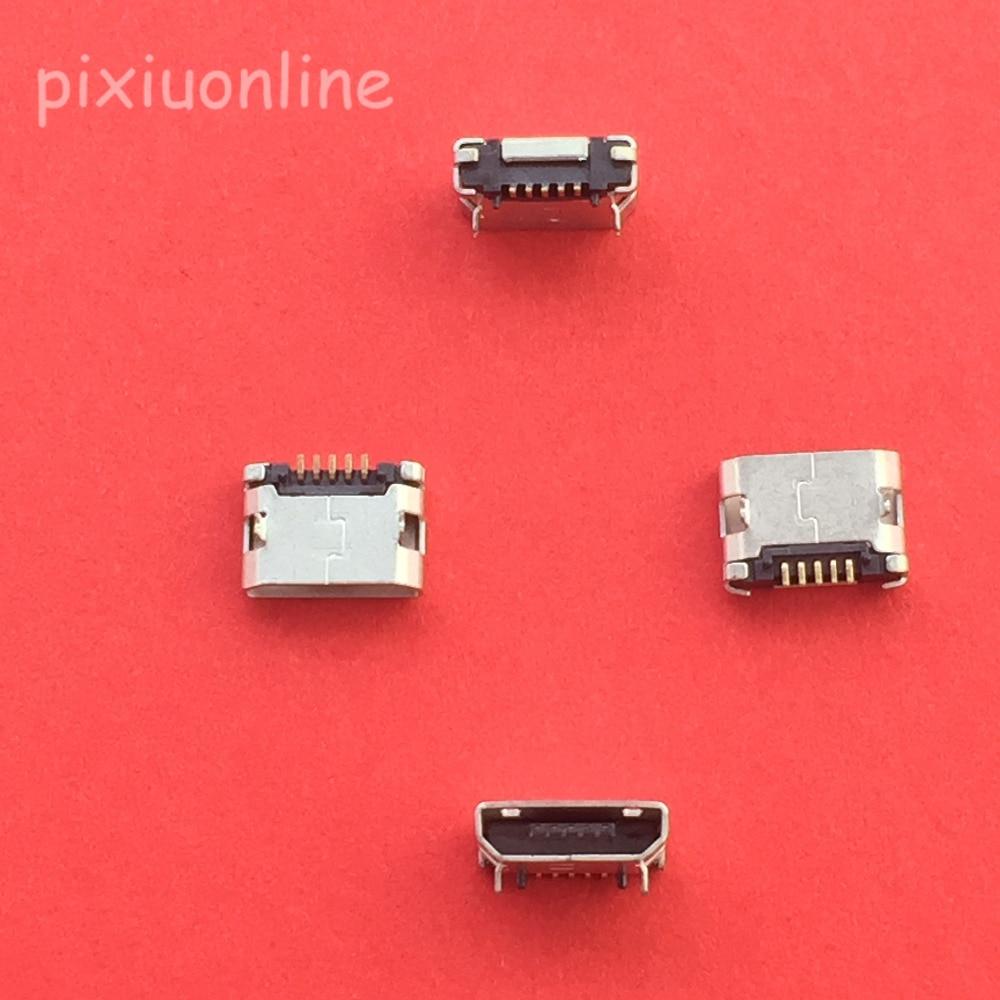 10 Pièces G19Y Micro USB 5pin Connecteur Femelle Pour Micro USB De Téléphone Portable Prise De Recharge Bouche Droite Vente à Perte Russie