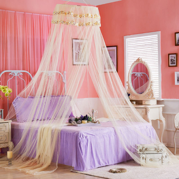 Classical Princess Lace Increase Mosquito net Elegant Dome Encryption Heighten Floor Hanging Insect Bedspread Household items