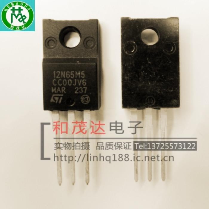 Цена STF12N65M5