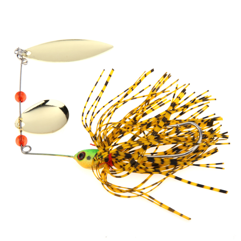 New 5pcs Fishing Spinner Lures Bass CrankBait Bait Tackle Crank Hook Vissen Harde Lokken Spinnerbait Pike Bass with 3D eyes 10pcs lot 0 8g spinner fishing lure bait spoon swisher buzzbait bass minnow crank popper vib spinnerbait lures tackle barb pesca
