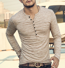 Long Sleeve Stylish Slim Fit T-shirt