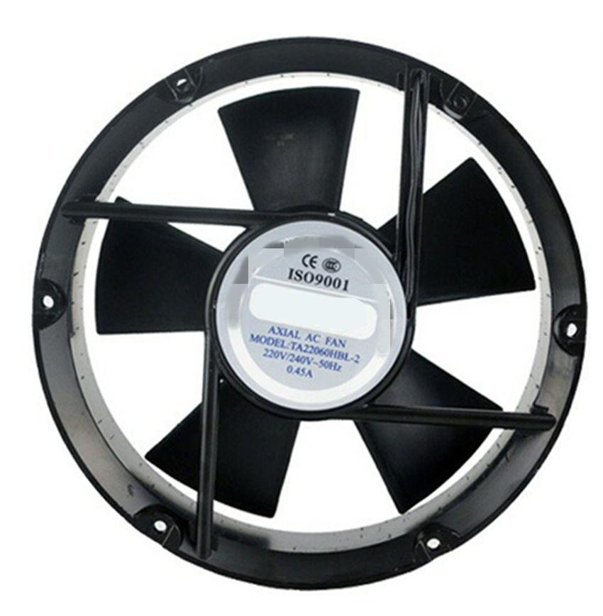 AC Axial Fan Copper Coil TA22060 Industrial Welder Cooling Fan 110V 220V 380V Brushless fan ball axial fan jd12038ac 220v 0 14a 12cm cooling fan