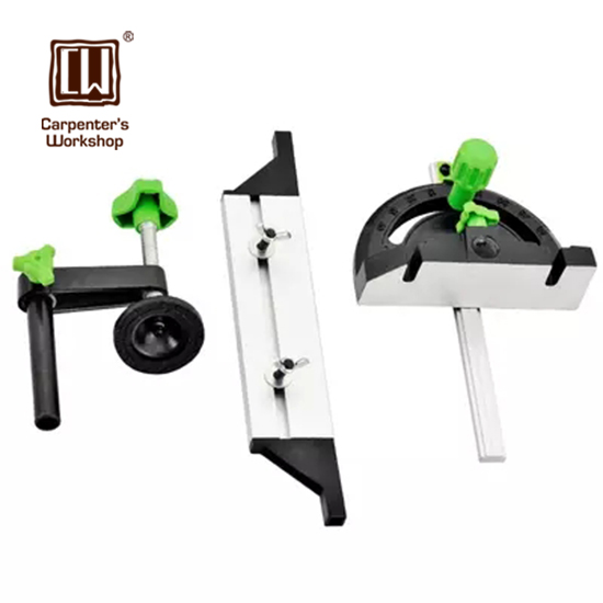 Miter Gauge for Table Saw with Adjustable Flip Stop carpenter s workshop miter gauge for table saw with adjustable flip stop