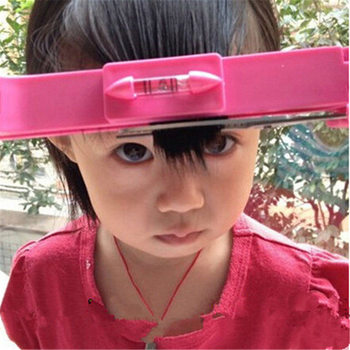 1PC DIY New Women Hair Trimmer Fringe Cut Tool Clipper Comb Guide for Cute Hair Bang Level Ruler Hair Accessories 2 Colors