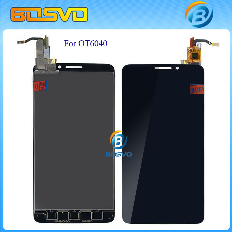 Replacement LCD Display Panel Touch Screen Digitizer Glass Assembly For Alcatel One Touch Idol X OT6040 6040 6040D +Track Number
