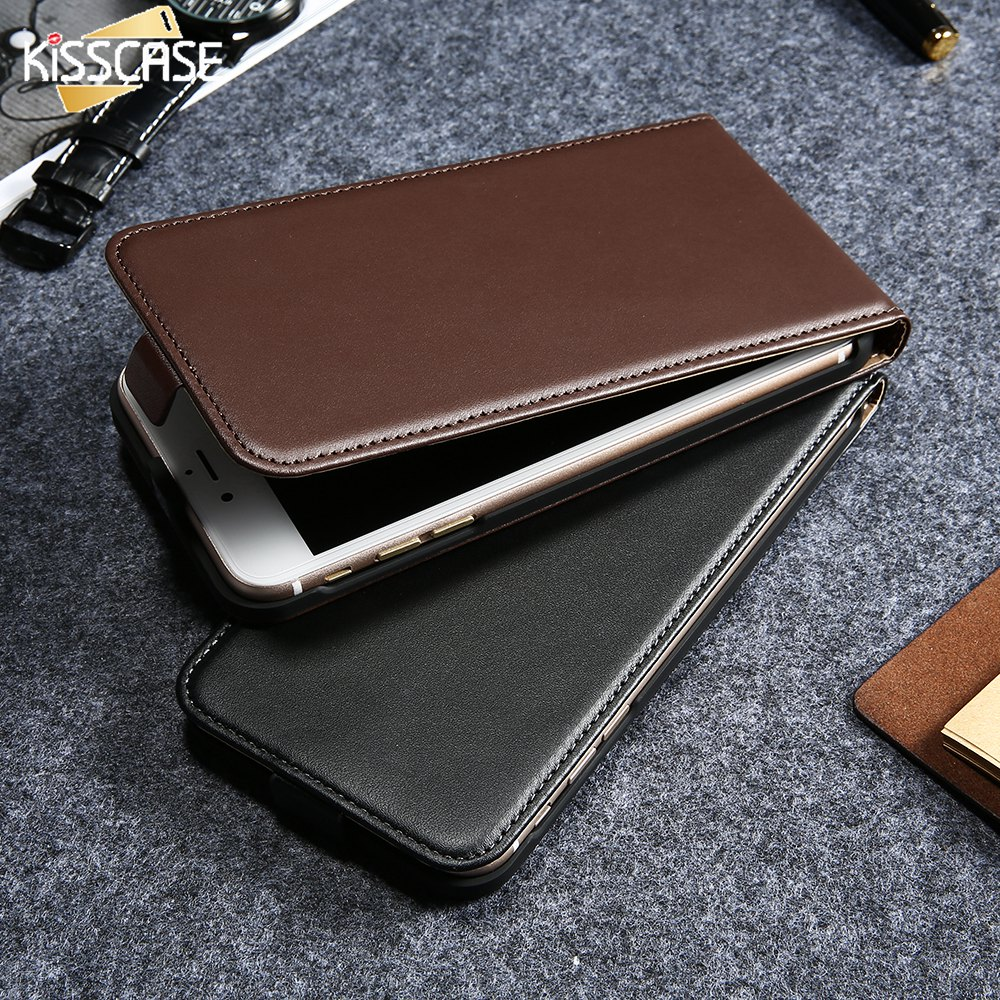 kisscase vintage flip pu leather case for iphone 5 5s 6s 4s phone cases cover coque for iphone. Black Bedroom Furniture Sets. Home Design Ideas