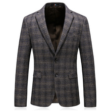 vetement homme 2018 autumn thick masculine blazer casual good quality mens blazers and suit jackets