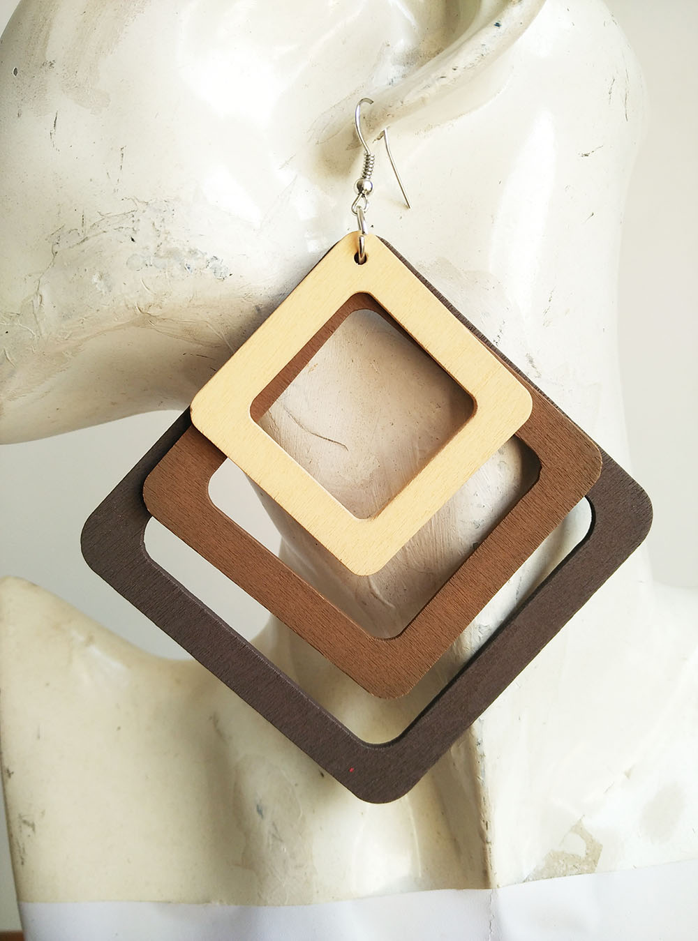Online buy wholesale african wood jewelry from china for How to make a wooden pendant