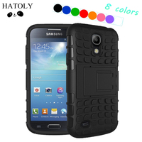 For Samsung S4 Kickstand Case Heavy Duty Armor Shockproof Hybird Hard Rugged Rubber Case Cover For