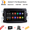 Quad Core Pure Android 7 1 GPS Navigator Radio Car Dvd For Dacia Renault Duster Logan